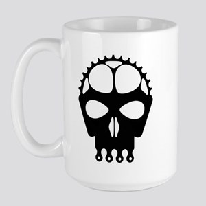 Chain Ring Skull Large Mug
